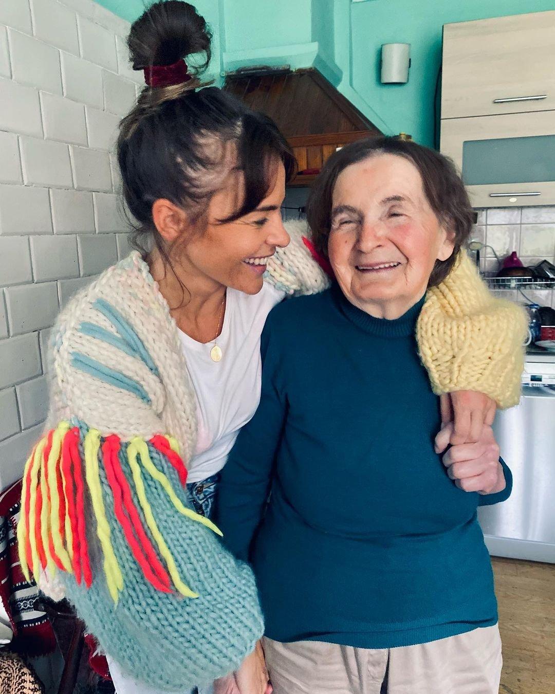 Edyta Herbuś, babcia