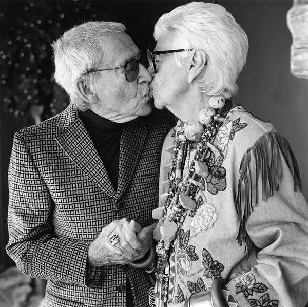 Iris i Carl Apfel