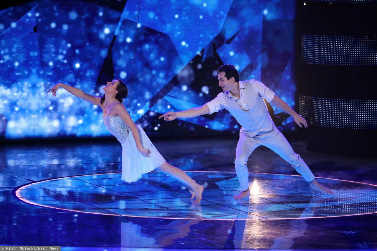 u Mam Talent N/z: Maria Gawlik, Julian Waglewski