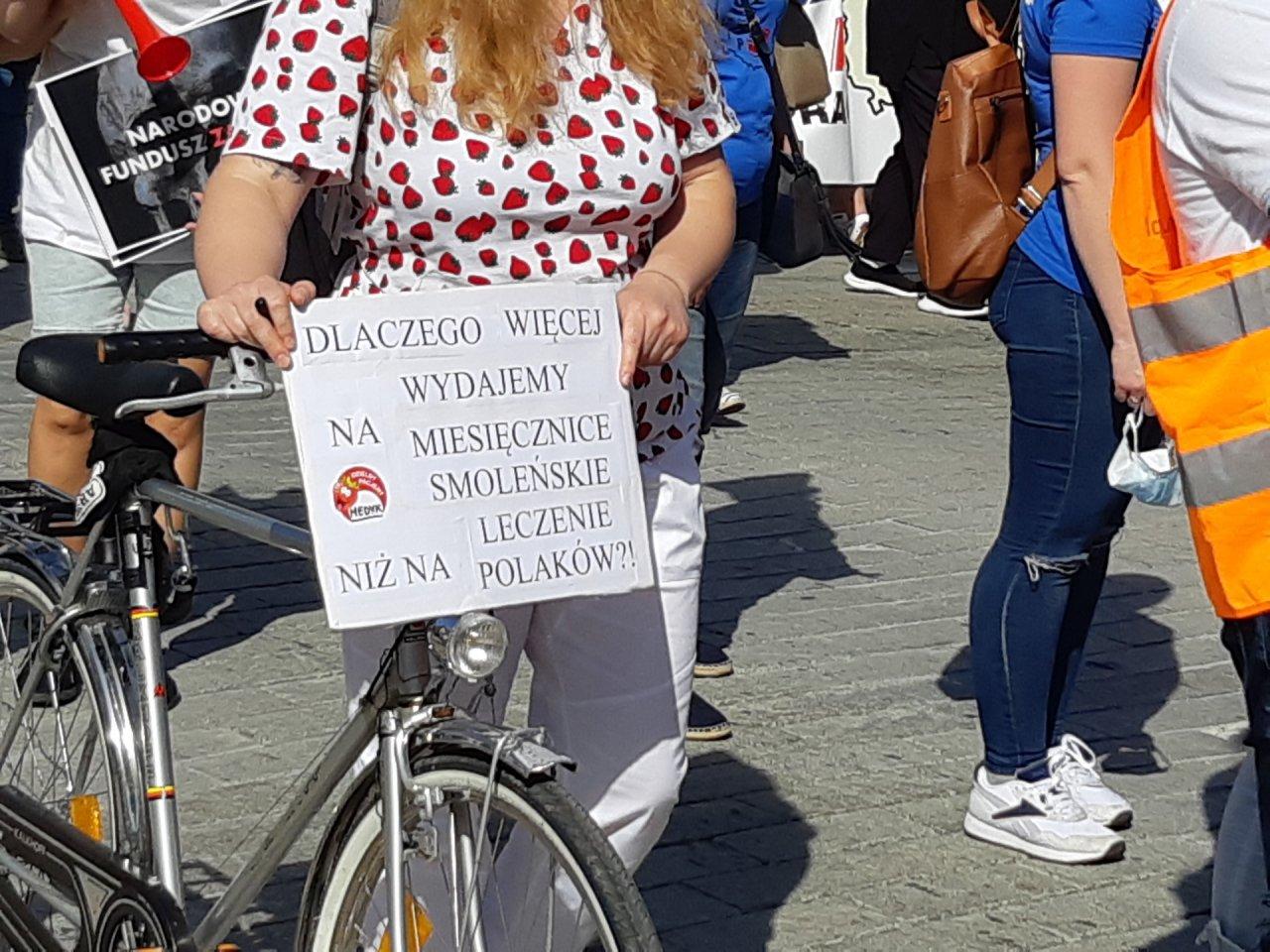 Protest medyków