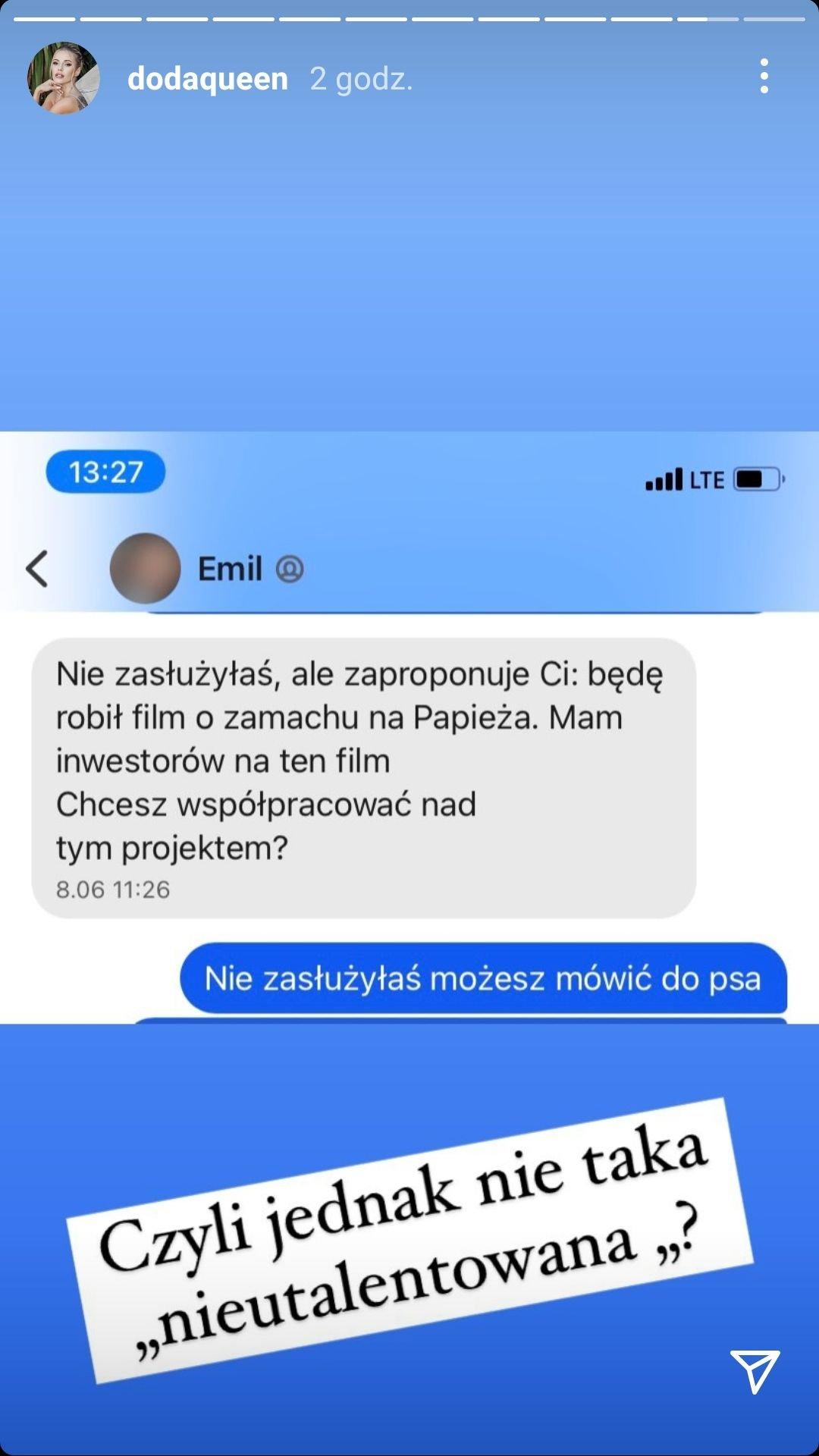 Doda, Emil Stępień
