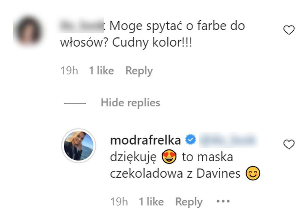 Oliwia Ciesiółka komentarz
