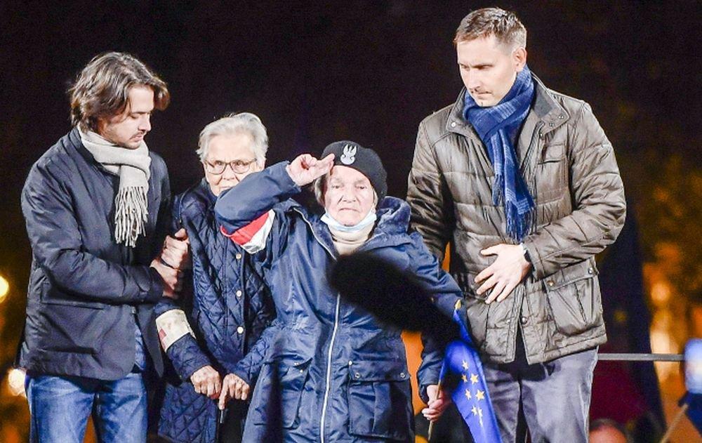 Rafał Trzaskowski, Wanda Traczyk-Stawska, Bartosz Arłukowicz