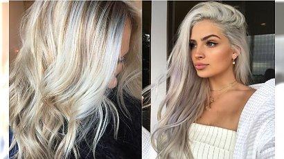 Modne kolory włosów: Snow-bunny - nowy trend w koloryzacji dla blondynek!