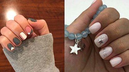 Manicure dla krótkich paznokci - 21 pięknych wzorów [GALERIA]