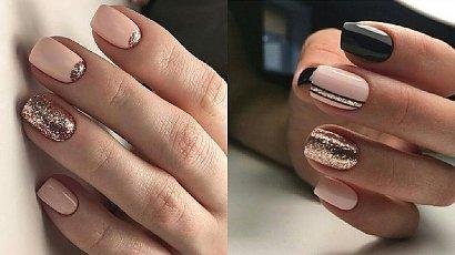 Złoty manicure - 20 inspiracji na manicure ze złotymi zdobieniami [GALERIA]