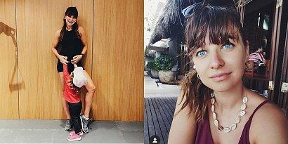 Anna Lewandowska świeci ciążowym, gołym brzuszkiem na plaży. Fanki coś odkryły i martwią się o dziecko. Ania się przyznała!