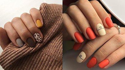 Krótkie paznokcie - 22 propozycje na nowoczesne wzory modne w 2020