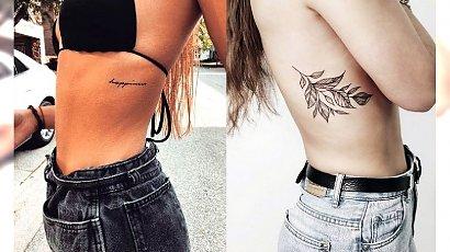 21 fantastycznych propozycji na tatuaż w okolicy żeber [GALERIA]