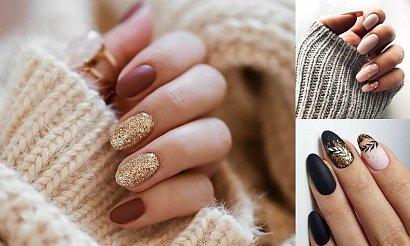 18 stylowych propozycji na manicure ze złotymi zdobieniami [GALERIA]