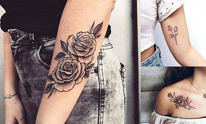 Tatuaż róża - 16 kobiecych i ultraciekawych wzorów