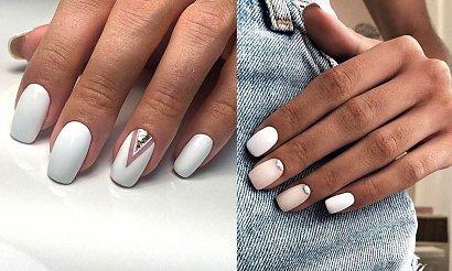 Biały manicure - 18 subtelnych i pięknych zdobień