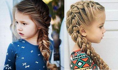 Fryzury dla dziewczynek - 20 pomysłów na śliczne uczesania z warkoczem