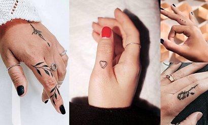 Tatuaże w okolicy palca - 15 kobiecych wzorów
