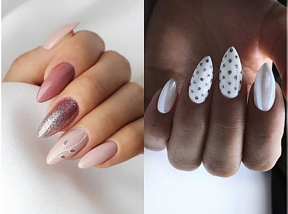Jasny manicure - 20 pomysłów na jasne paznokcie nie tylko na wesele [GALERIA]