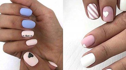 Krótkie paznokcie - 30 propozycji na manicure dla krótkich paznokci 2020