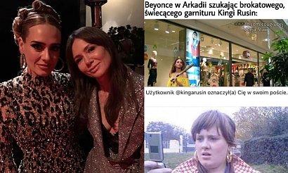 Kinga Rusin spotkała się z Adele, a internauci tworzą MEMY! Zobaczcie najlepsze!