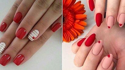 Czerwony manicure - 25 pomysłów na paznokcie w różnych odcieniach czerwieni