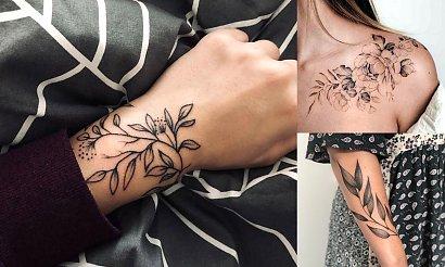 Tatuaże inspirowane naturą - 15 rewelacyjnych wzorów dla dziewczyn