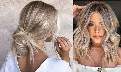 Modne kolory włosów 2020 - popielaty blond w kilkunastu odcieniach
