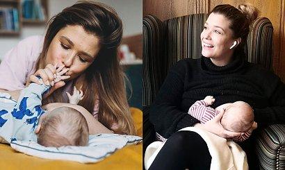 Maria Konarowska pokazała, jak karmi piersią. Fani chwalą ją za tak intymne zdjęcie
