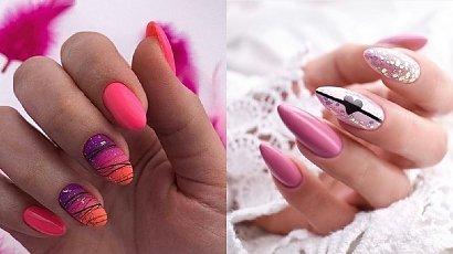 Różowy manicure - 25 pomysłów ma paznokcie w różnych odcieniach różu [GALERIA 2020]