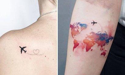 Tatuaże z motywem podróży - 20 inspiracji, które przypomną Ci wakacje