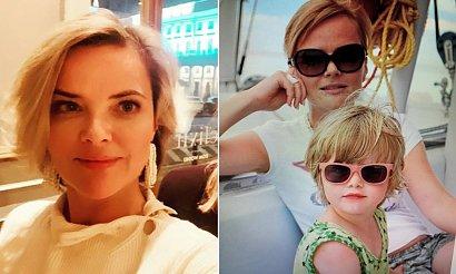 Monika Zamachowska pochwaliła się zdjęciem córki. Fani są zachwyceni nastoletnią Zosią