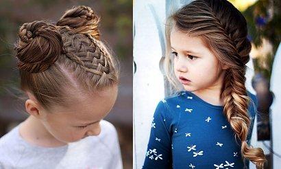 Fryzury dla dziewczynek - 17 pomysłów na śliczne uczesania z warkoczem