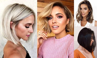 20 półkrótkich i półdługich fryzur - modne cięcia wiosna/lato
