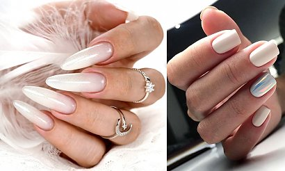 Biały manicure – 20 subtelnych zdobień