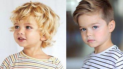 Ciekawe fryzury chłopięce - zobacz, jak modnie ostrzyc dziecko!