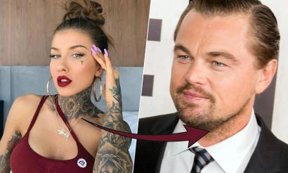 Deynn za pomocą makijażu zamieniła się w Leonardo DiCaprio. Aż ciężko uwierzyć, że to nie jest maska!