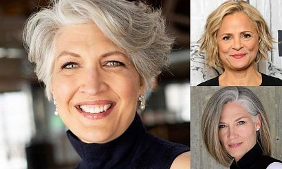 Fryzury dla dojrzałych kobiet - propozycje dla krótkich i średnich włosów