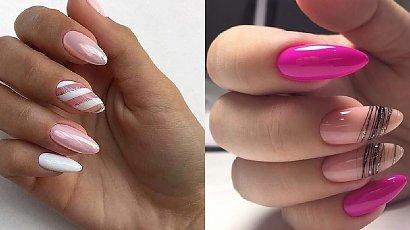 Różowy manicure - prawie 30 modnych pomysłów na różowe paznokcie w różnych odcieniach