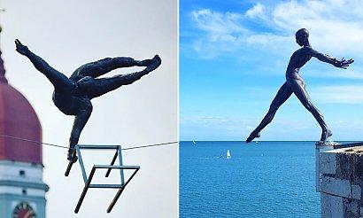 Te rzeźby przeczą prawu grawitacji. Zobacz niesamowite arcydzieła, które znajdują się w najciekawszych miejscach na świecie