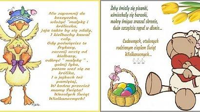 Życzenia na Wielkanoc 2020 - kreatywne pomysły na gotowych kartkach