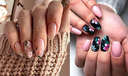 Kwiatowy manicure - galeria najlepszych stylizacji z sieci