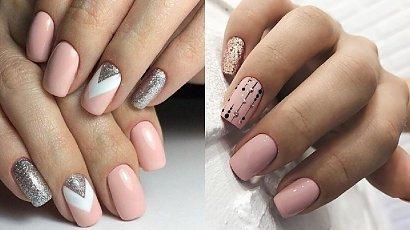 Różowe paznokcie - różowy manicure w różnych odcieniach [GALERIA]