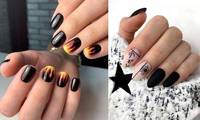 Czarny manicure - 21 najciekawszych stylizacji paznokci
