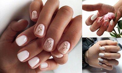 Biały manicure - 20 ultrapięknych i gustownych zdobień