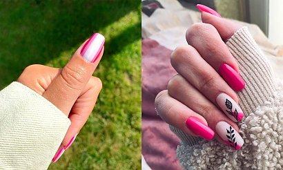 Różowy manicure - 25 fantastycznych zdobień