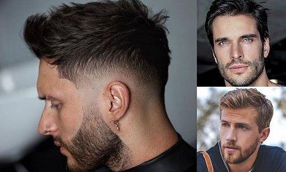 Modne fryzury męskie – katalog stylowych cięć