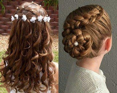 Fryzura na komunię - 21 pomysłów na fryzury dla dziewczynek [GALERIA 2020]