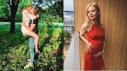 """Julia Wróblewska na nowym zdjęciu: """"Urodziłam"""" - pisze. """"Takie słodziaki można co rok rodzić"""" - skomentowała fanka"""