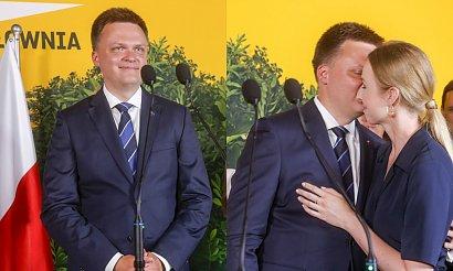 Szymon Hołownia to największy przegrany wyborów? Uwagę skradła jego żona!