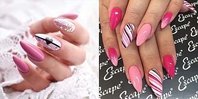 Różowe paznokcie - 22 pomysły na modny manicure na lato [GALERIA 2020]