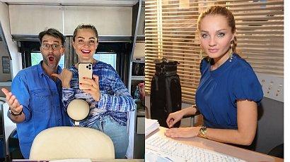 """""""BrzydUla"""": Małgosia Socha pokazała nowe zdjęcia z planu. Violetta będzie miała kolorowe włosy?!"""