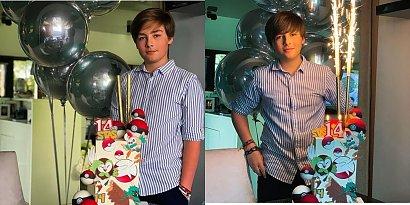 14-letni syn Małgorzaty Rozenek ma niezwykły talent. Swoją artystyczną duszę pokazuje na Instagramie. Zobaczcie!