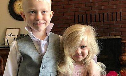 6-latek osłonił swoim ciałem młodszą siostrę przed atakiem psa. Ze szpitala wyszedł z 90 szwami na twarzy...